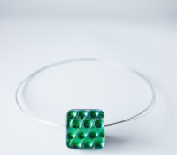 dichroic glass jewellery