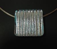 Dichroic glass pendant