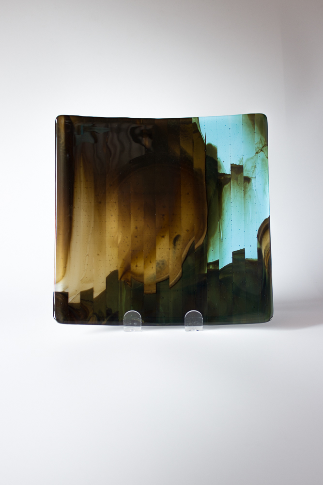 fused glass plate 2