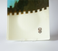 fused glass plate 3