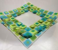 mosaic style plate