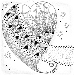 Zentangle class - sample