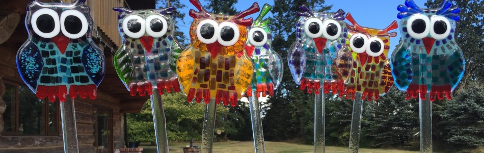 Extra Cute Owls – Glass fusing workshop